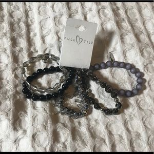 Tilly's Full Tilt stackable bracelets
